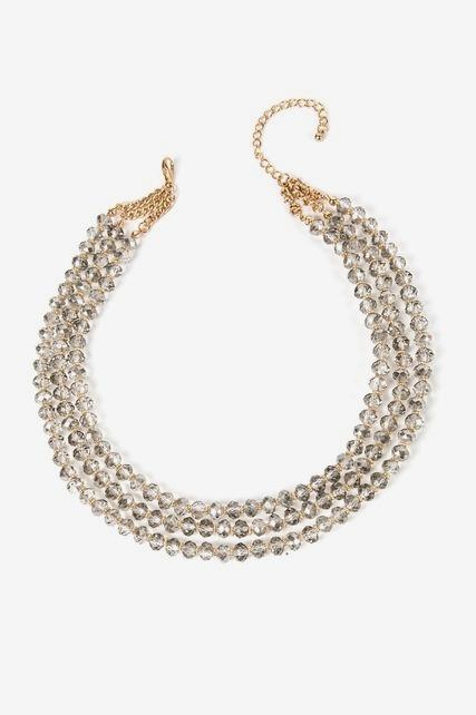 Multi Layered Stone Necklace