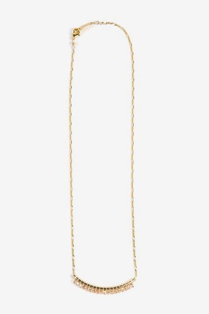 Beaded Bar Pendant