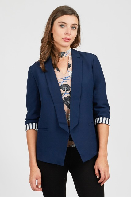 Striped Lining Blazer