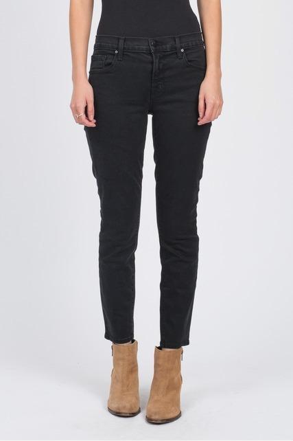 Black Cropped Skinny Jean