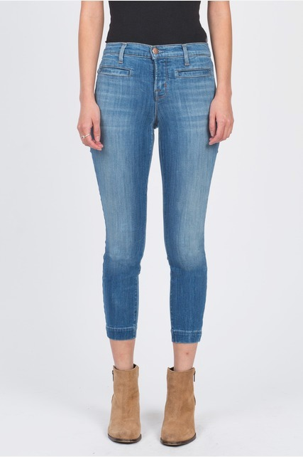 Light Washed Skinny Jean