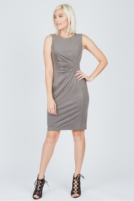 Knotted Sheath Dress