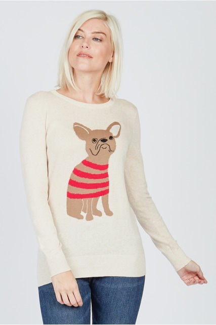 Bull Dog Sweater
