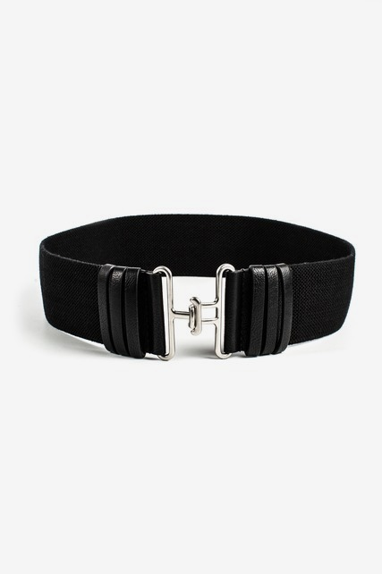 Hook Fabric Stretch Belt