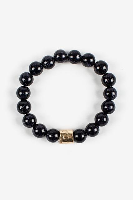 Midnight Beaded Bracelet