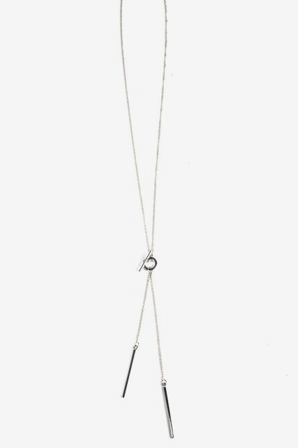 Toggle Lariat Necklace
