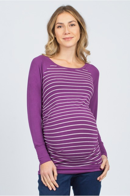 Raglan Stripped Top