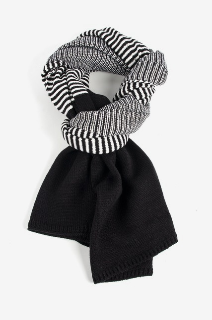 Stripe Sweater Scarf