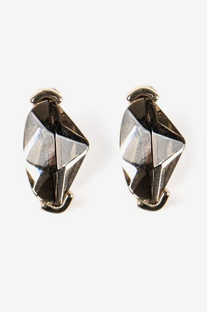 Metallic Crystal Studs
