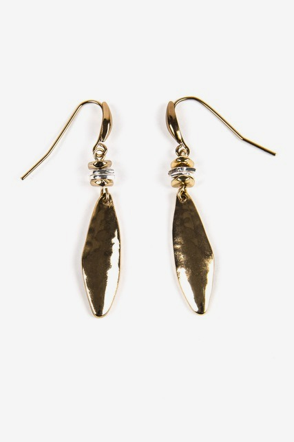 Hammered Marquise Drops