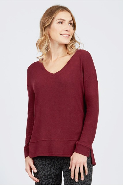 Cozy Vee Neck Sweater