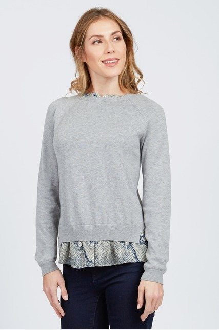 Snake Detail Sweater