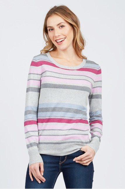 Multi Stripe Sweater