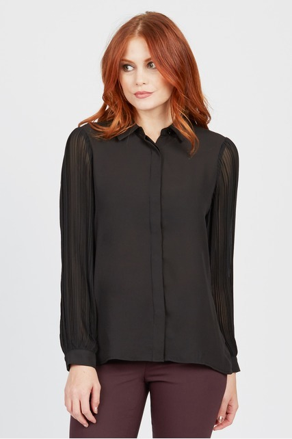 Drapey Button Down