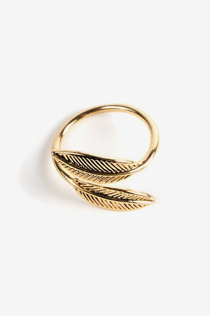 Leaf Wrap Ring