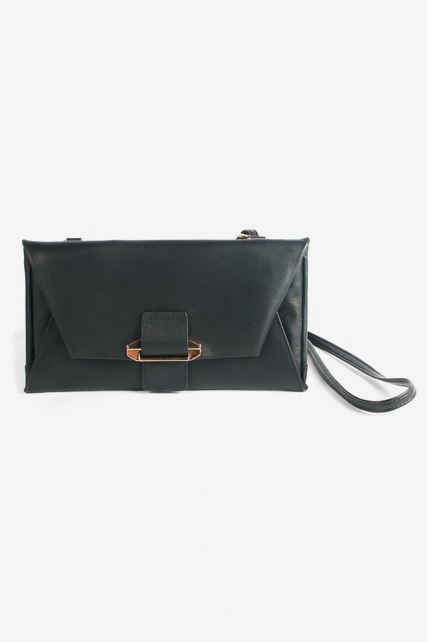 Leather Crossbody Wallet