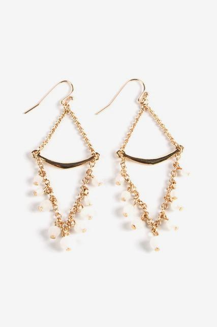 Trapeze Bead Earrings