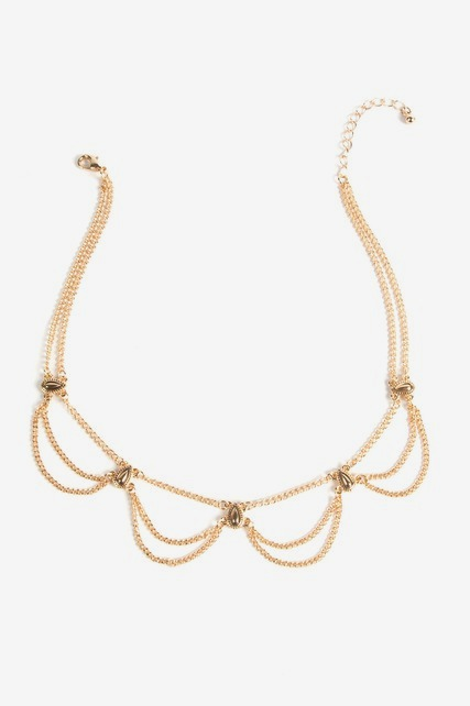 Draped Collar Necklace