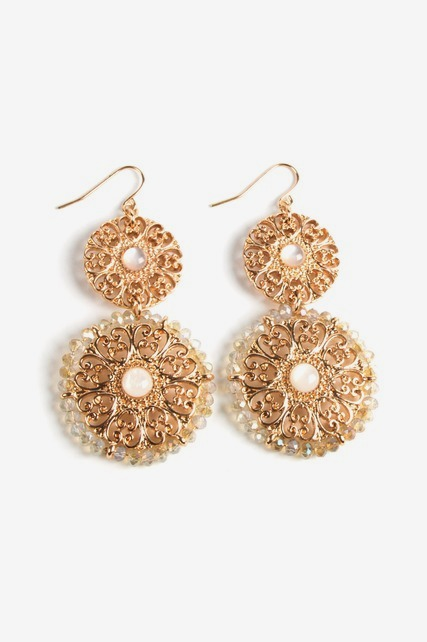 Antique Statement Earrings