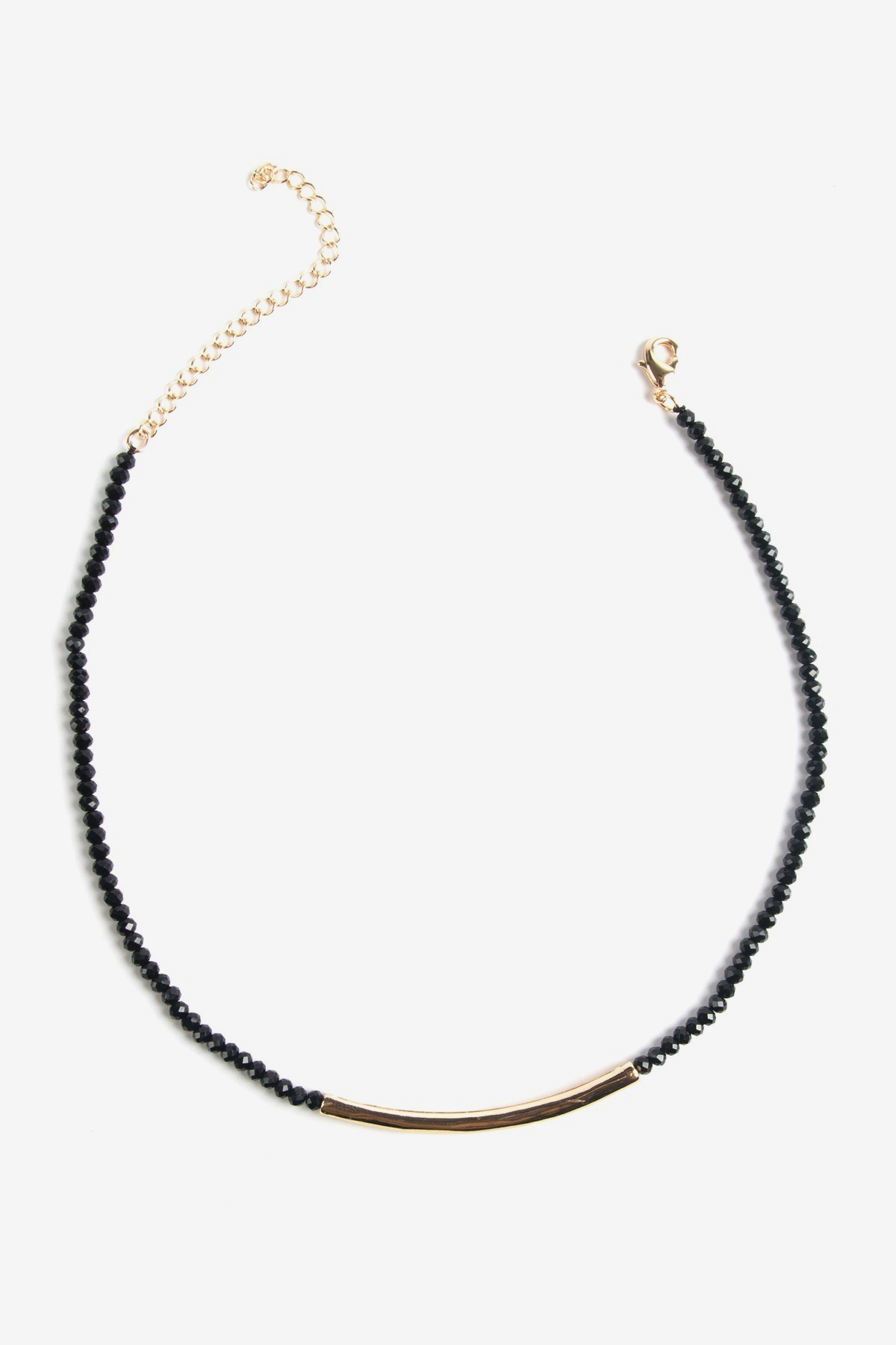 Beaded Choker Necklace By Noir Luxe At Le Tote