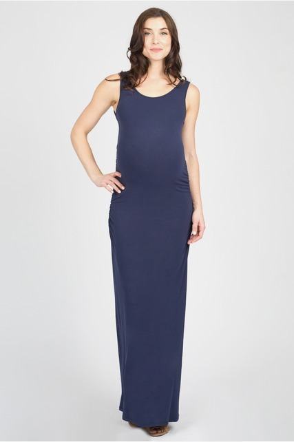 Side Ruched Maxi