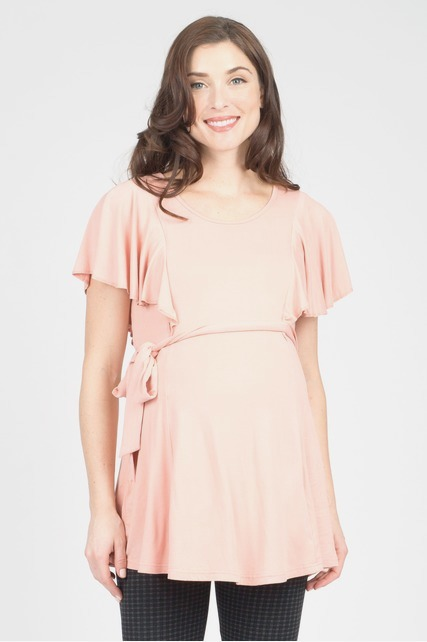 Ruffle Nursing Top