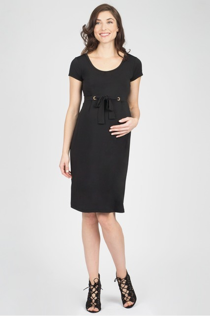 Grommet Tie Dress