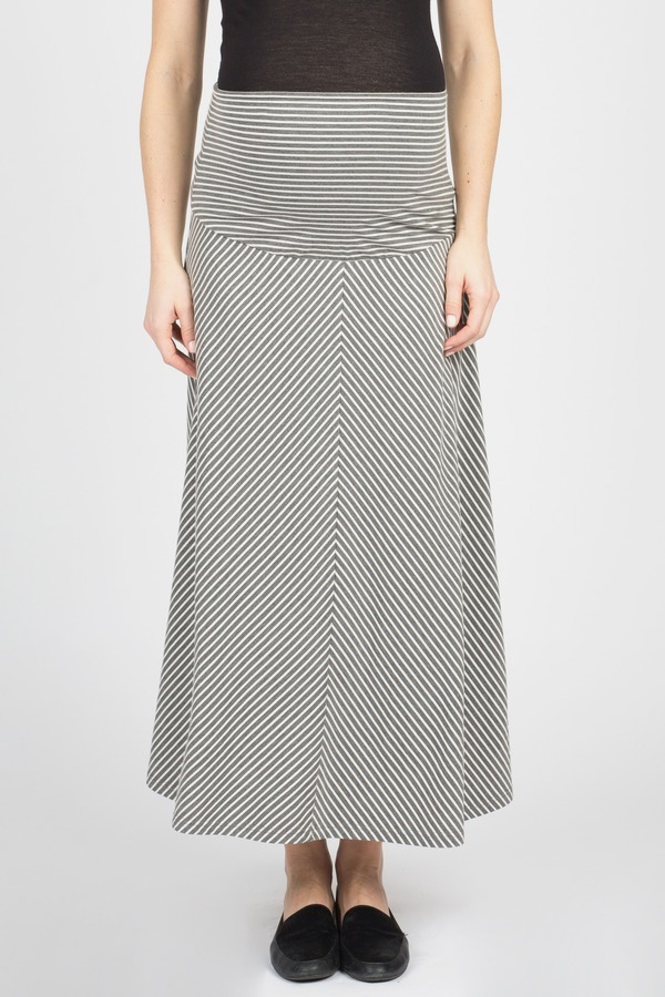 5c2e0c4fe04 Striped Flared Skirt by Summer   Sage Maternity at Le Tote