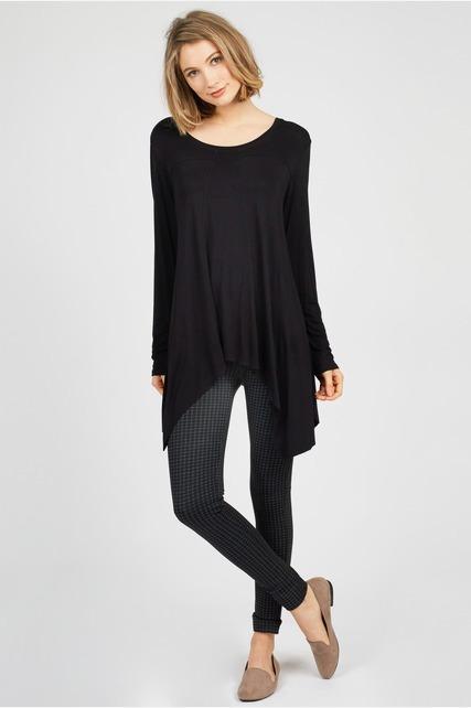 Side Drape Pullover