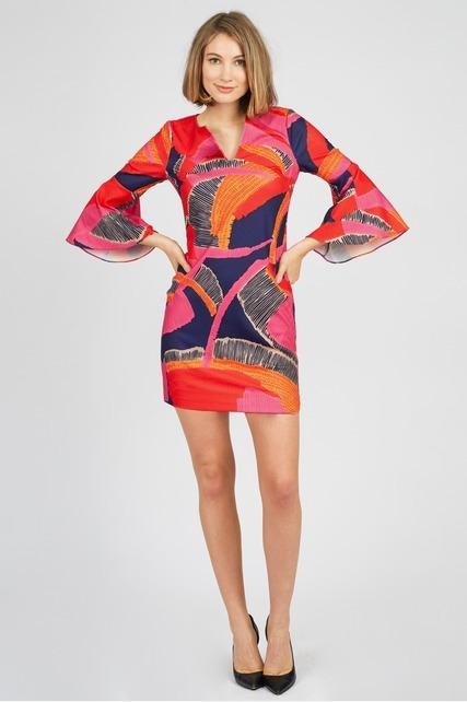 Retro Flutter Dress