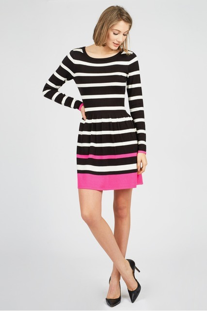 Bright Striped Dress