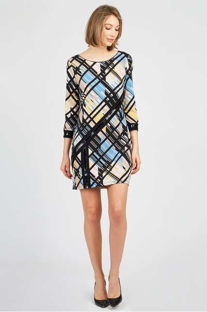 Printed Sheath Dress