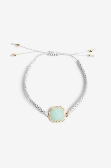 Druzy Braided Bracelet