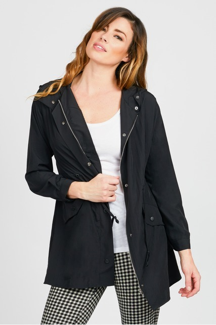 Washed Anorak Jacket