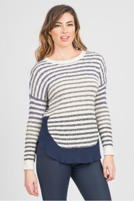 Variegated Stripe Dolman