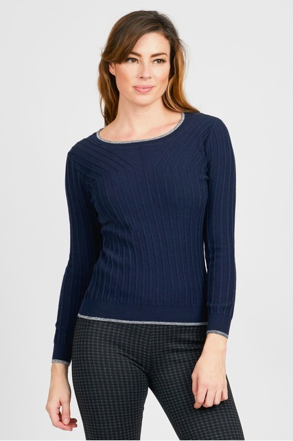 Loose Textured Rib Sweater