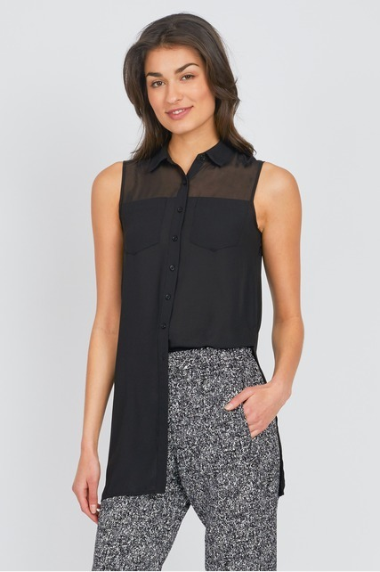 Pocket Patch Tunic Top