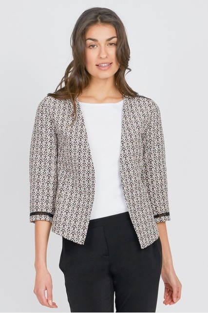 Structured Print Jacket