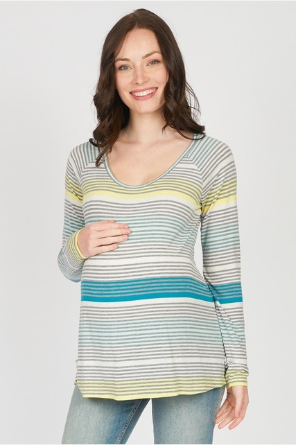Variegated Striped Shirt