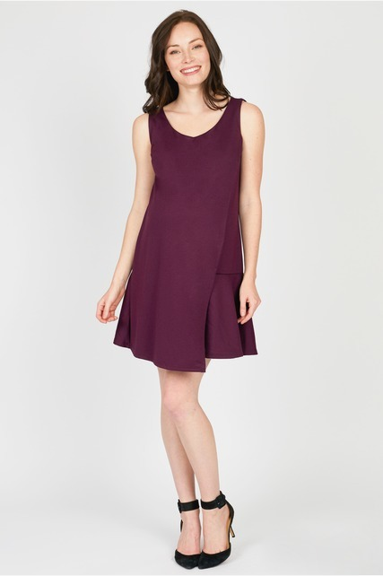 Overlay Wrap Dress