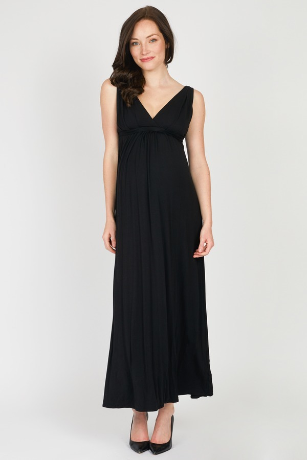 Black Wrap Maxi By Tart Maternity Rent Clothes With Le Tote