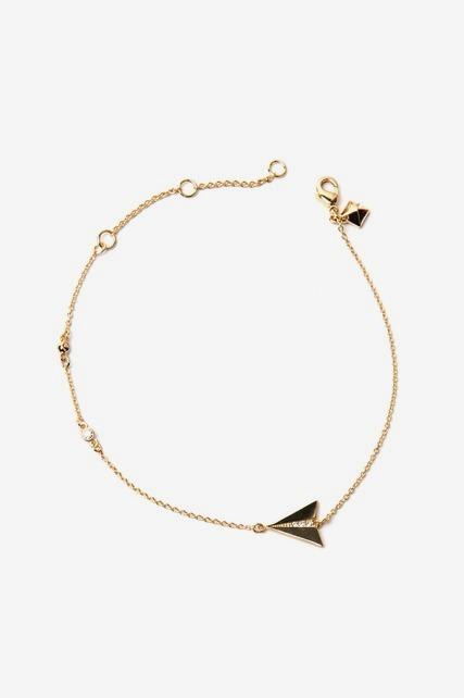 Paper Plane Bracelet