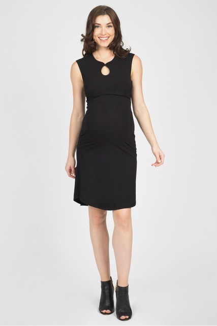 Keyhole Nursing Dress