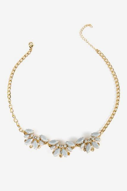 Gemstone Cluster Necklace