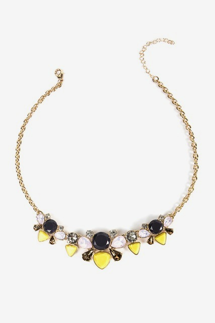 Mixed Jewel Necklace