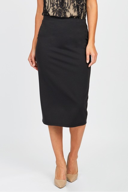 Double Knit Midi Skirt