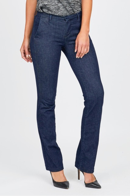 Bootcut Denim Trousers