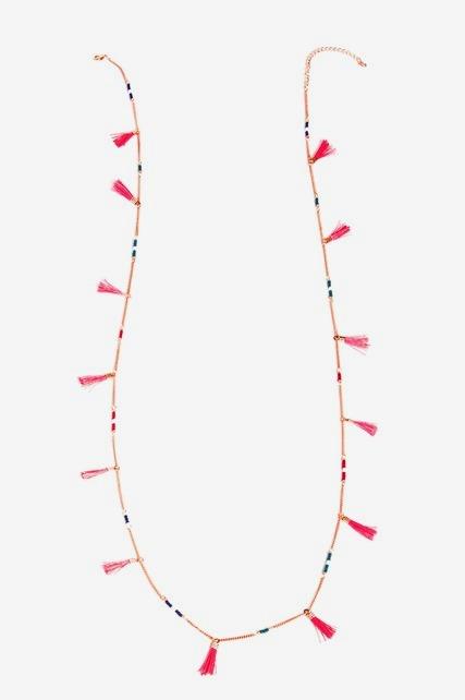 Tassel Station Necklace