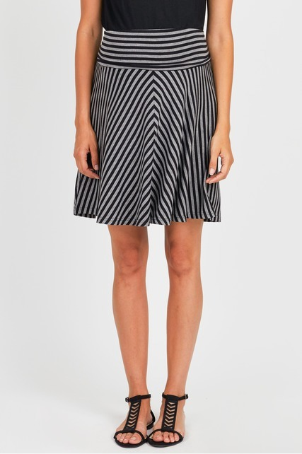 Striped Circle Skirt