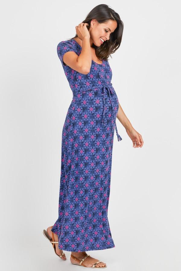Geo Printed Maxi Dress